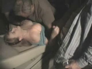 Busty Mature Group Fucked In A Movie Theatre By A Bunch Of Guys