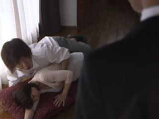 Boss Busted His Son And Mature Maid Fucking In The Middle Of The Living Room  Madoka Miki