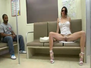 Amazing Violet Raye Goes Hardcore In Public Traing