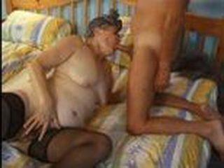 Grandpa Fuck Granny in Bedroom