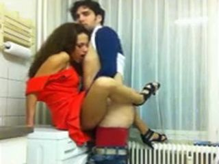 Sexy College Girl Gets Fucked In A kitchen