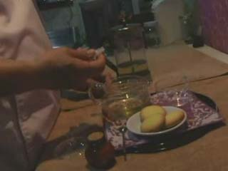Masseur From Hell Put Some Pills Into Female Client Tea To Maimed Her And Fuck Without Resisting