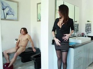 Embarrassing Moment When Gfs Mom Caught Me Jerking Surprisingly Ended Splendid Way
