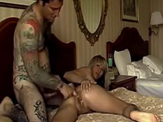 Hot Blonde Slut With Big Tits Had Good Anal Sex In Hotel Room