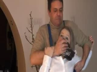 Hot Office Lady Chloroformed and  Fucked by Janitor While Passed Out