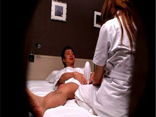 Guy Was Shocked When He Saw His Masseuse Wife Being Fucked By His Dad At Her Workplace